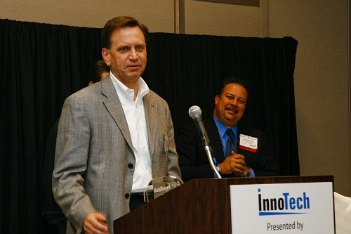 Greg Sedlock, Information Technology Director for the Texas Windstorm Insurance Association is honored as Austin's IT Executive of the Year (Public Sector)