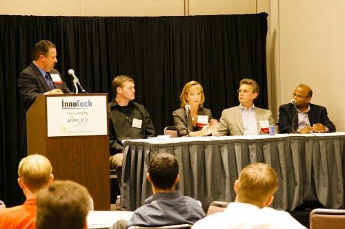 Andres Carvallo, CIO, Austin Energy Dave Benton, VP of IT Austin Ventures Kristin Odeh, Vice President, Information Technology, Dell Treg Russell, Vice President, Management Information Systems, Texas Medical Liability Trust Umesh Manathkar, CIO, Silicon Labs