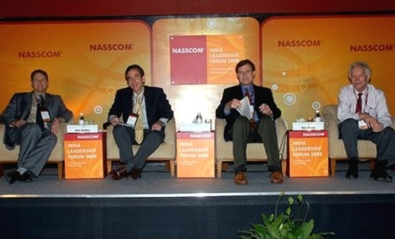 Panel discussion at the NASSCOM India Leadership Forum